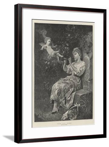 Music Hath Charms--Framed Art Print