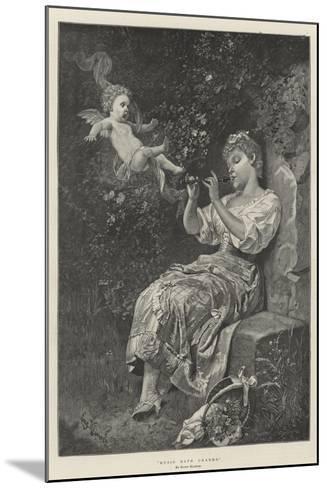 Music Hath Charms--Mounted Giclee Print