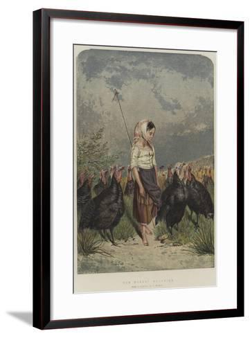 The Turkey Guardian--Framed Art Print