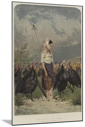 The Turkey Guardian--Mounted Giclee Print