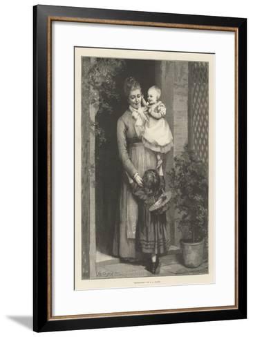 Dethroned--Framed Art Print