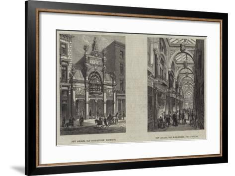 Old Bond Street--Framed Art Print
