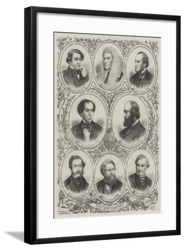 The New Cabinet--Framed Art Print