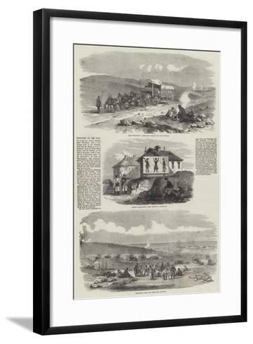 Sketches of the War--Framed Art Print