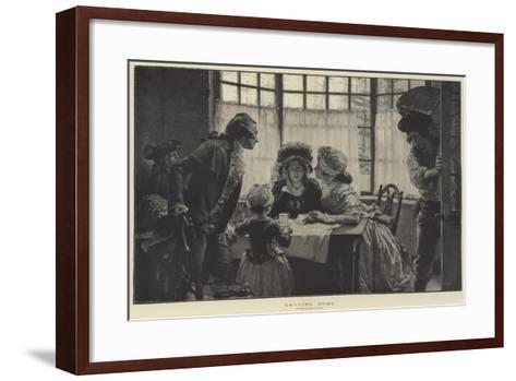Leaving Home--Framed Art Print