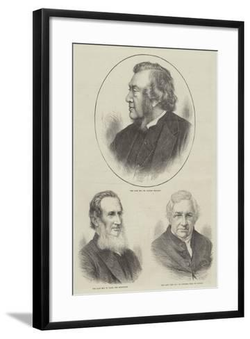 Churchmen--Framed Art Print