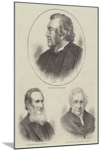 Churchmen--Mounted Giclee Print
