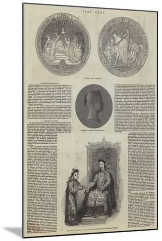 Fine Arts--Mounted Giclee Print
