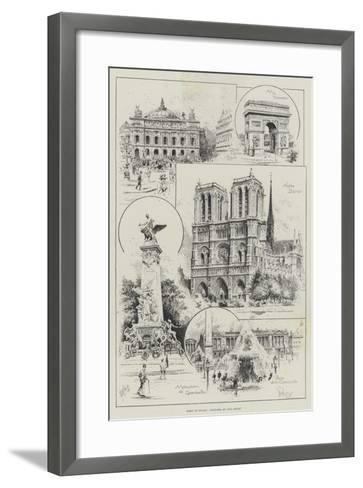 Paris of To-Day--Framed Art Print