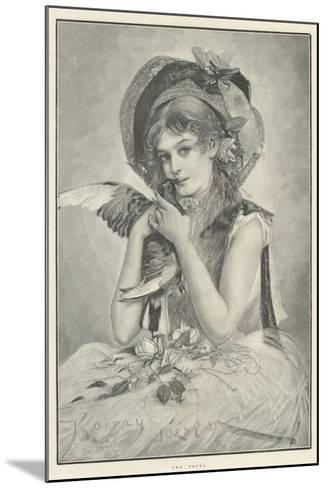 The Doves--Mounted Giclee Print