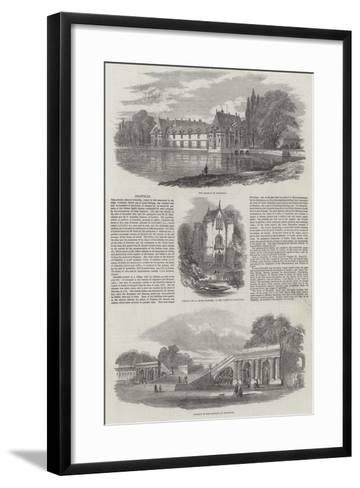 Chantilly--Framed Art Print