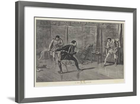 A Day of Reckoning--Framed Art Print
