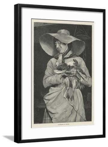 Condemned to Death--Framed Art Print