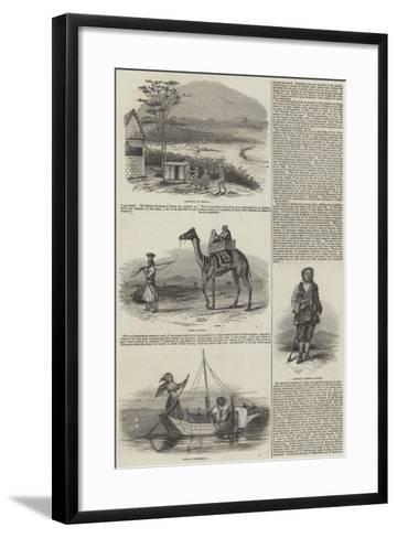 Sketches of India--Framed Art Print