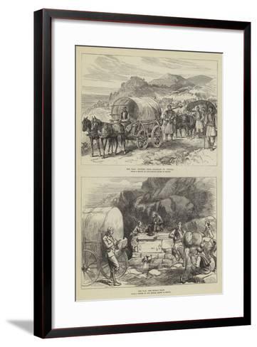 The War in Turkey--Framed Art Print