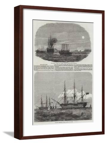 The Baltic Fleet--Framed Art Print