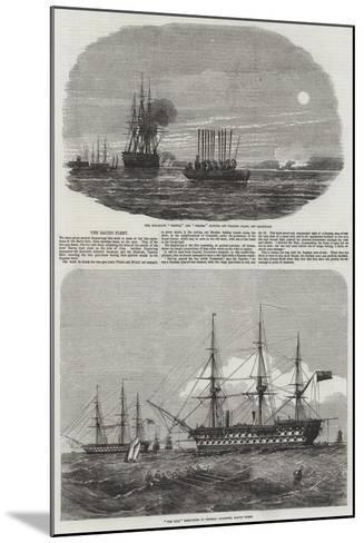 The Baltic Fleet--Mounted Giclee Print