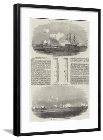 The Baltic Fleet--Framed Art Print