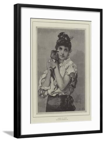 Catseyes--Framed Art Print