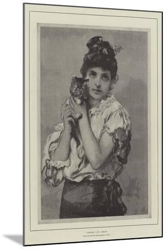 Catseyes--Mounted Giclee Print
