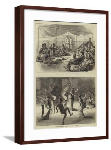 Sketches in Burmah--Framed Art Print