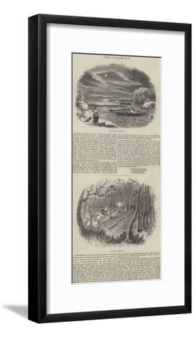 Sports of England--Framed Art Print