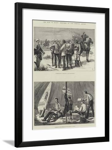 The War in Egypt--Framed Art Print
