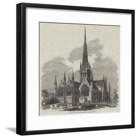 St Nicholas Church, Great Yarmouth, Lately Restored--Framed Art Print