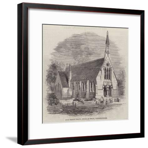 Holy Trinity Chapel School at Reach, Cambridgeshire--Framed Art Print