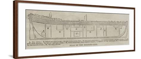 Plan of the Herring-Buss--Framed Art Print