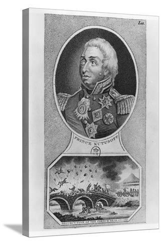 Prince Mikhail Illarionovich Golenischev-Kutuzov--Stretched Canvas Print