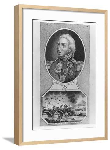 Prince Mikhail Illarionovich Golenischev-Kutuzov--Framed Art Print
