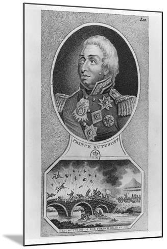 Prince Mikhail Illarionovich Golenischev-Kutuzov--Mounted Giclee Print