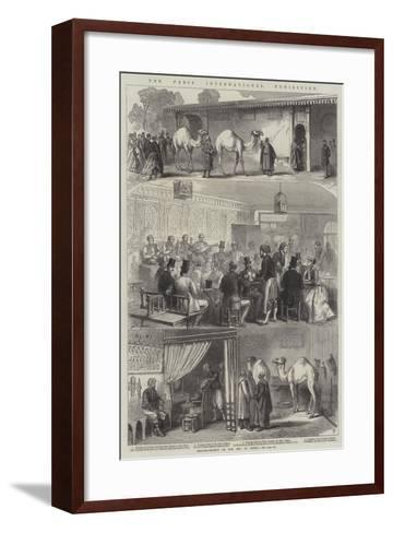The Paris International Exhibition--Framed Art Print
