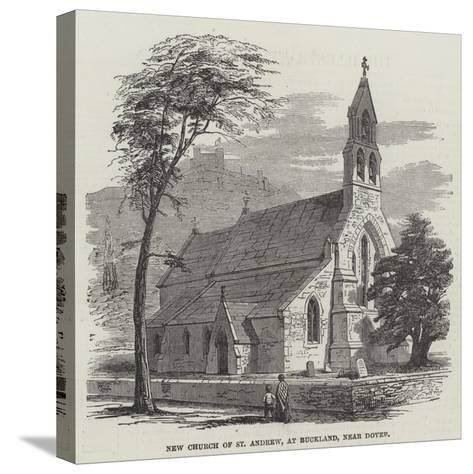 New Church of St Andrew, at Buckland, Near Dover--Stretched Canvas Print