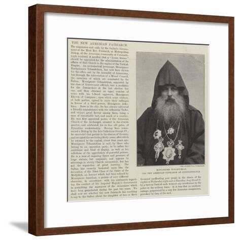 Monsignore Tchamtchian, the New Armenian Patriarch at Constantinople--Framed Art Print