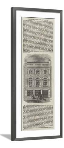 The Boston Athenaeum--Framed Art Print
