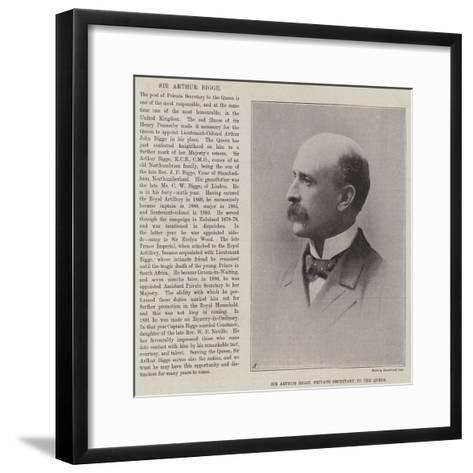 Sir Arthur Bigge, Private Secretary to the Queen--Framed Art Print