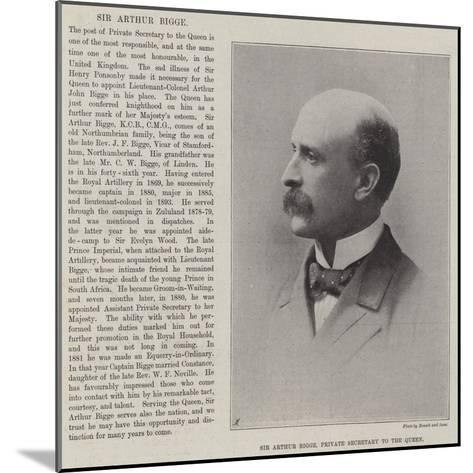 Sir Arthur Bigge, Private Secretary to the Queen--Mounted Giclee Print