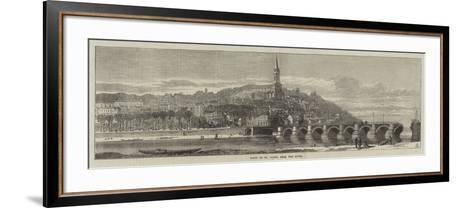 Ruins of St Cloud, from the River--Framed Art Print