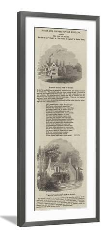The Isle of Wight--Framed Art Print