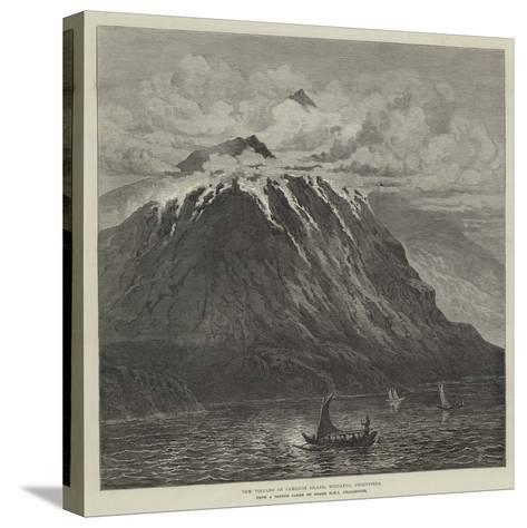 New Volcano on Camiguin Island, Mindanao, Philippines--Stretched Canvas Print