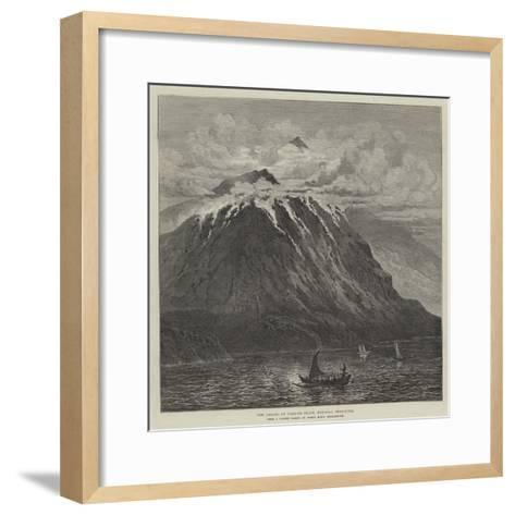 New Volcano on Camiguin Island, Mindanao, Philippines--Framed Art Print