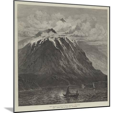 New Volcano on Camiguin Island, Mindanao, Philippines--Mounted Giclee Print