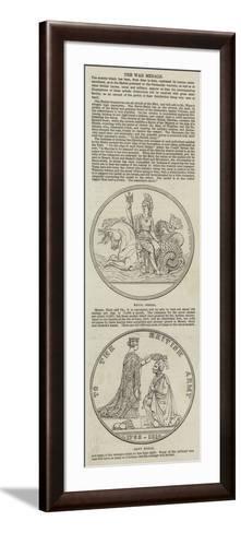 The War Medals--Framed Art Print