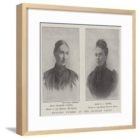 English Nurses at the Russian Court--Framed Art Print