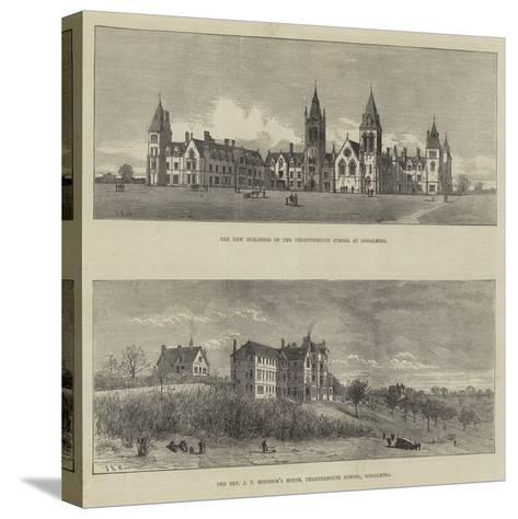 Charterhouse School--Stretched Canvas Print