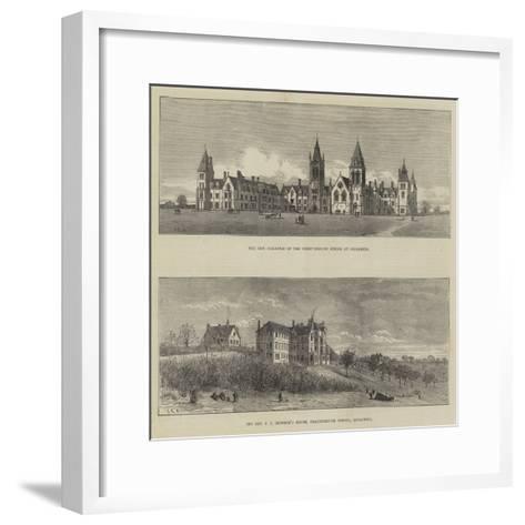 Charterhouse School--Framed Art Print