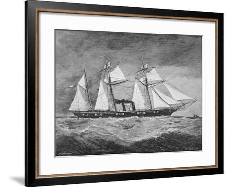 The CSS Florida--Framed Art Print