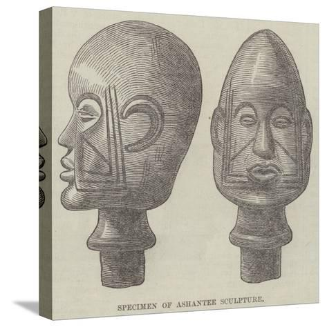 Specimen of Ashantee Sculpture--Stretched Canvas Print